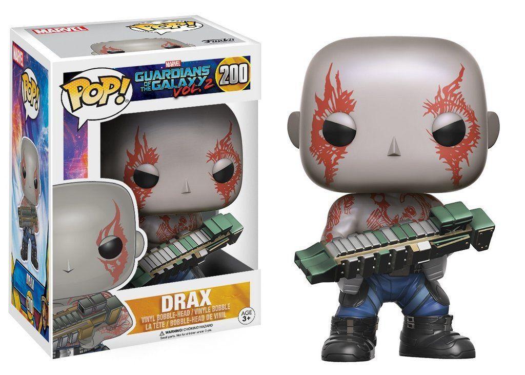 Funko Pop Drax: Guardiões da Galáxia Vol.2 #200 - Funko