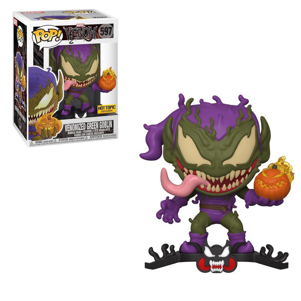 Funko Pop! Duende Verde Venom (Venomized Green Goblin): Marvel Exclusivo #597- Funko