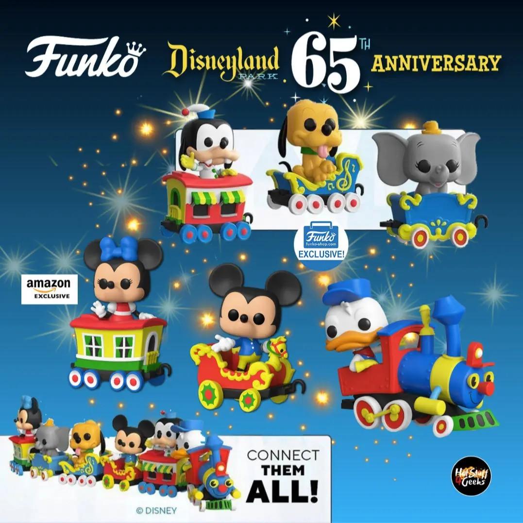 PRÉ VENDA: Funko Pop! Dumbo no Carrinho do Trem (Aniversário 65 Anos) - Funko