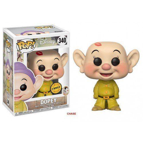 Pop! Dunga (Dopey) (Chase): Branca de Neve e os Sete Anões (Disney) #340 - Funko