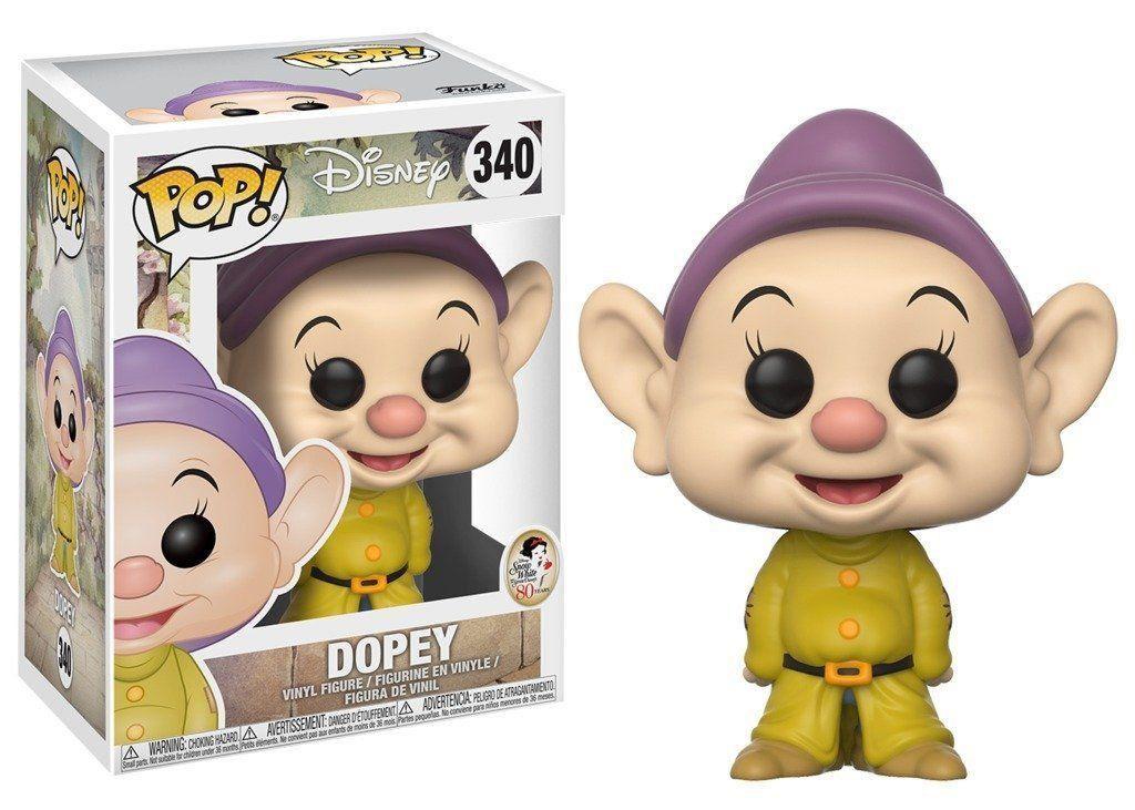 Funko Pop! Dunga (Dopey): Branca de Neve e os Sete Anões (Disney) #340 - Funko