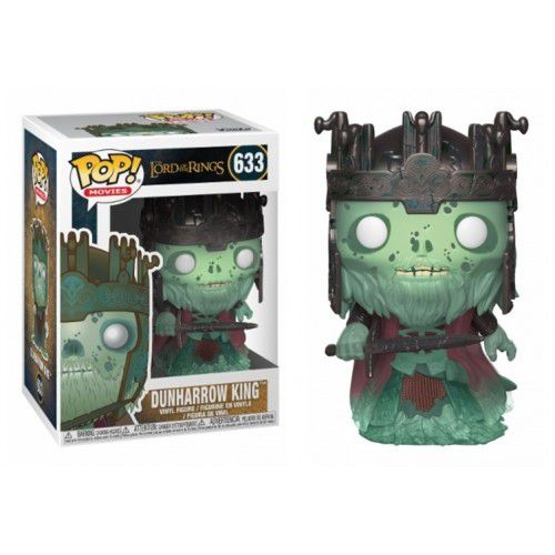 Funko Pop! Dunharrow King: O Senhor dos Anéis (The Lord Of The Rings) #633 - Funko