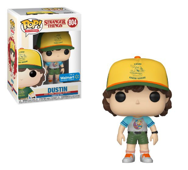 Pop! Dustin: Stranger Things (Exclusivo) #804 - Funko (Apenas Venda Online)