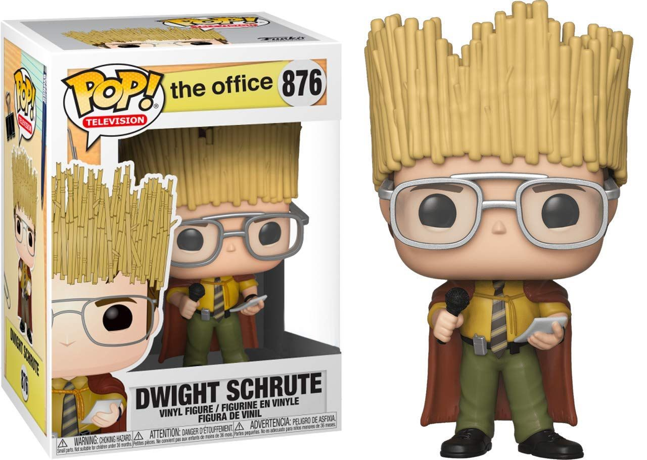 Funko Pop! Dwight Schrute as Hay King: The Office #876 - Funko (Apenas Venda Online)