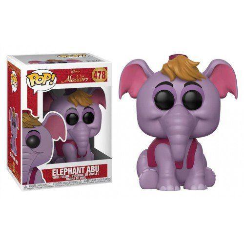 Funko Pop! Elephant Abu: Aladdin (Disney) #478 - Funko