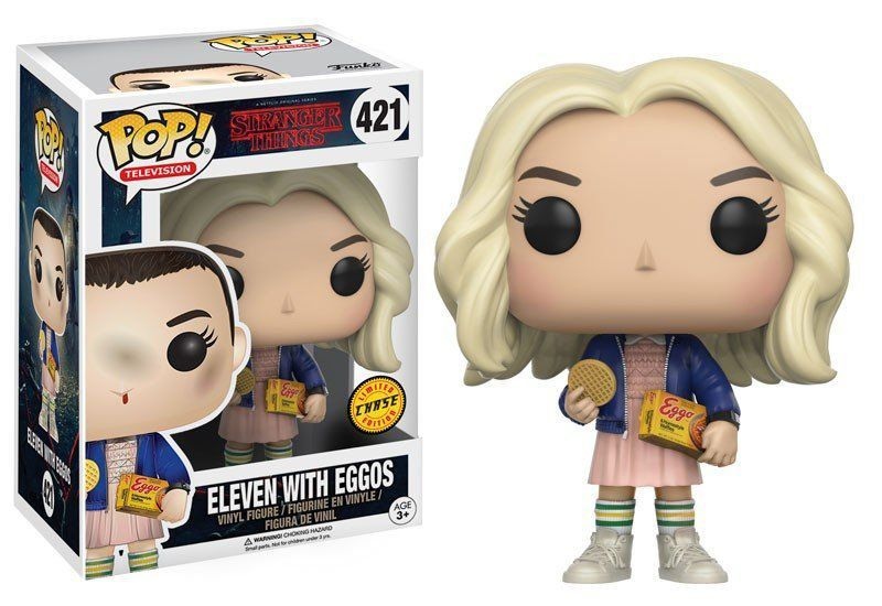 Funko Pop Eleven (Chase): Stranger Things #421 - Funko