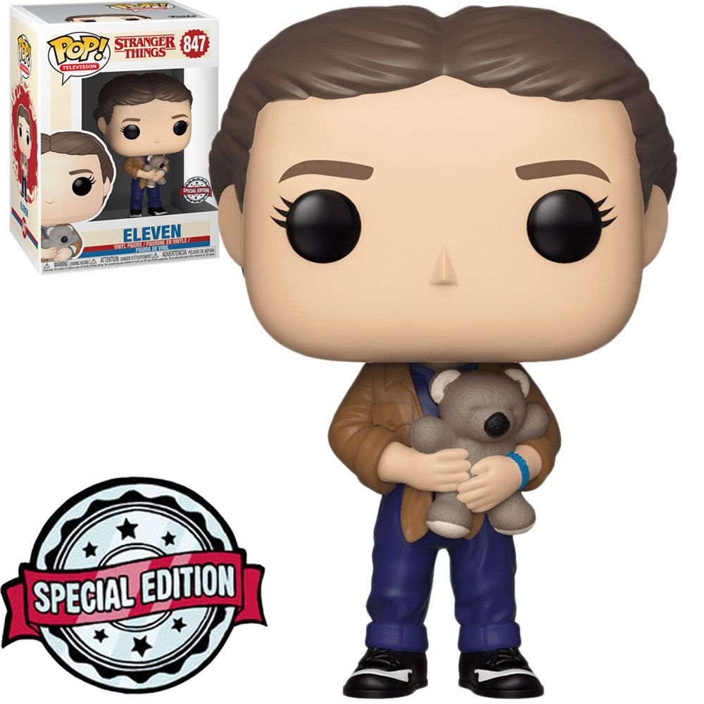 Pop! Eleven (With Bear): Stranger Things (Exclusivo) #847 - Funko