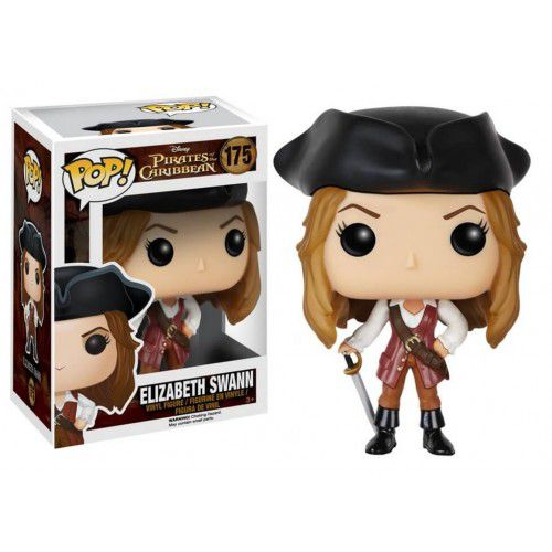 Funko Pop! Elizabeth Swann: Piratas do Caribe (Pirates of the Caribbean) #175 - Funko