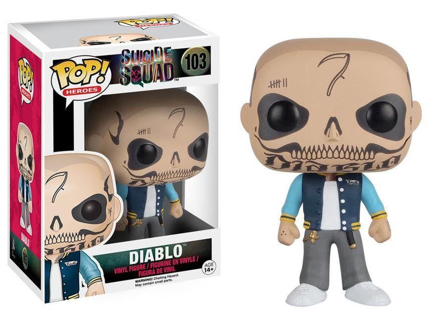 Funko Pop El Diablo: Esquadrão Suicida #103 - Funko