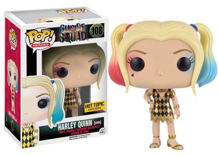 Funko POP! Esquadrão Suicida: Harley Quinn Gown - Funko