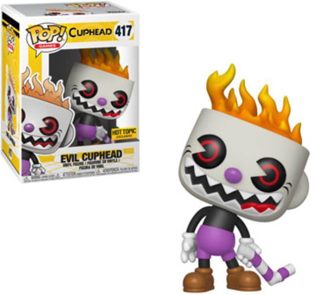 Pop! Evil Cuphead: Cuphead (Exclusivo) #417 - Funko