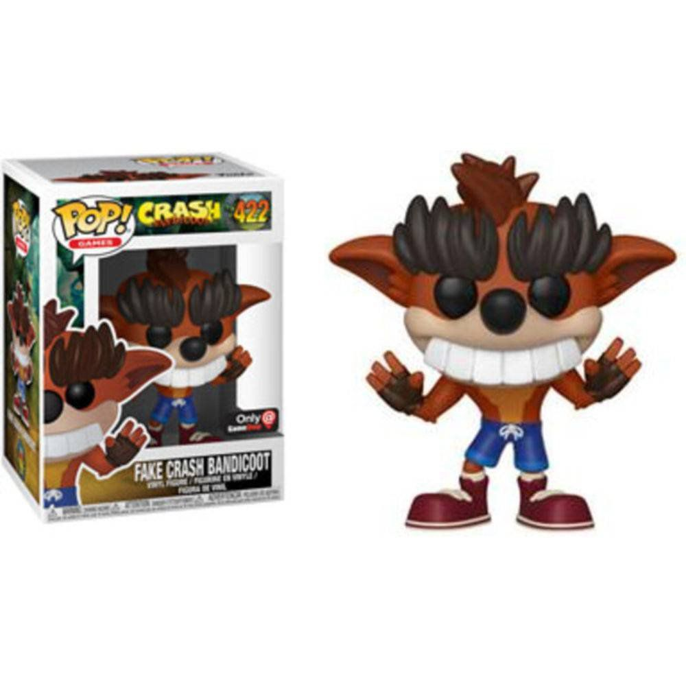 Pop! Fake Crash Bandicoot: Crash Bandicoot (Exclusivo) #422 - Funko