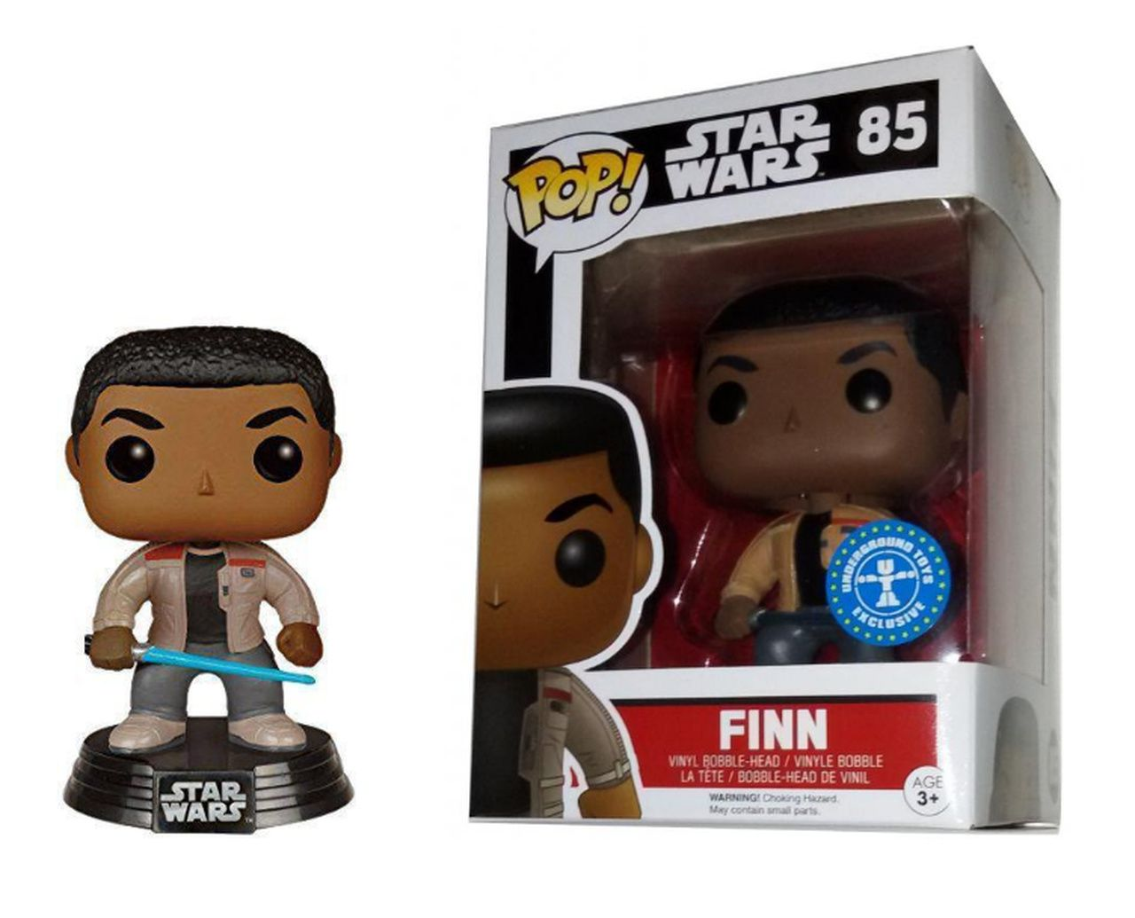Funko Pop! Finn: Star Wars (Exclusivo) #85 - Funko