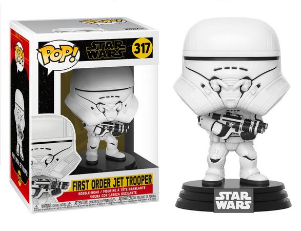 Funko Pop! First Order Jet Trooper: Star Wars A Ascensão Skywalker (Star Wars The Rise of Skywalker) #317 - Funko