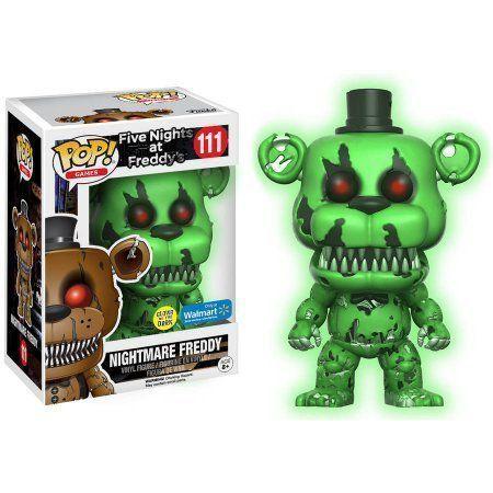 Pop! Five Nights at Freddy's #111 Nightmare Freddy Brilha no Escuro -Exclusivo  ( Somente Venda On line )
