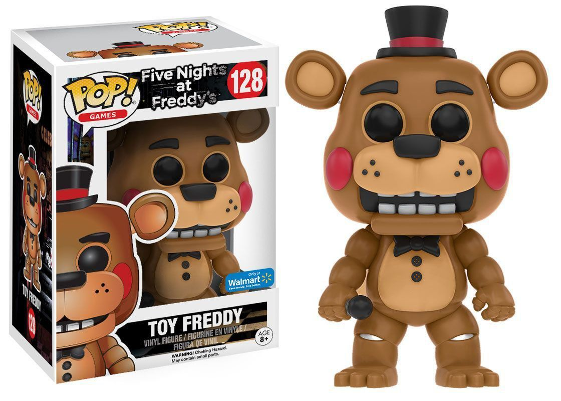 Pop! Five Nights at Freddy's Toy Freddy #128 Exclusivo