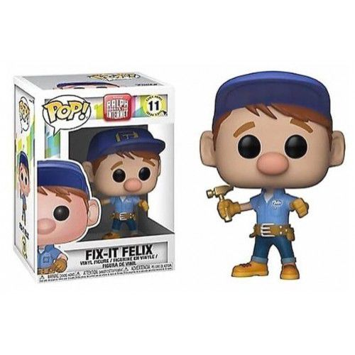 Funko Pop! Fix-It Felix: WiFi Ralph Quebrando a Internet #11 - Funko