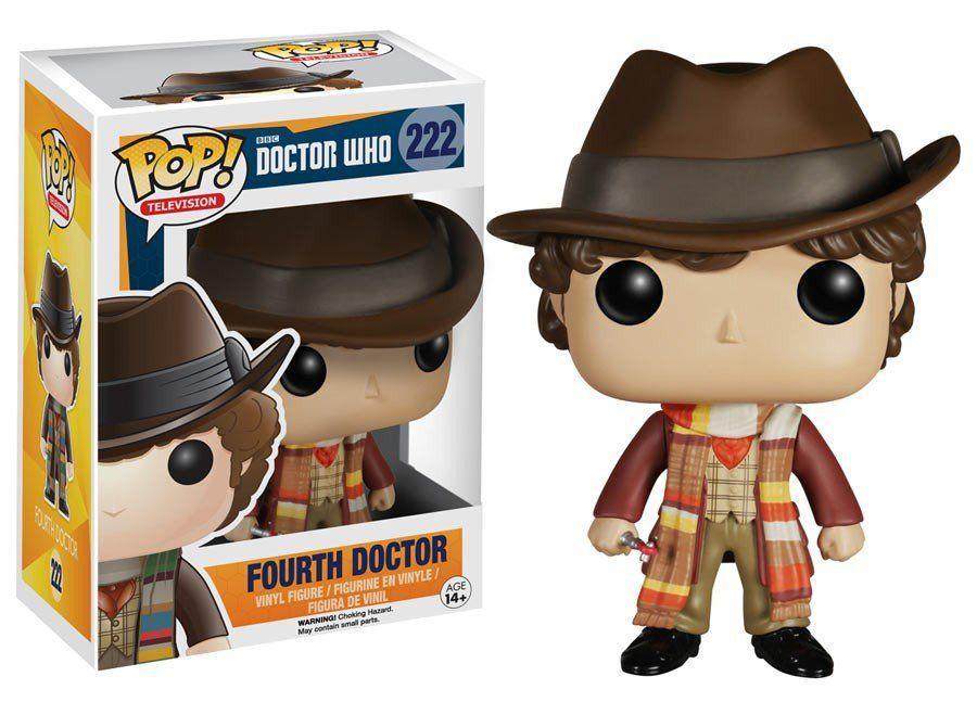 Funko Pop Fourth Doctor: Doctor Who #222 - Funko