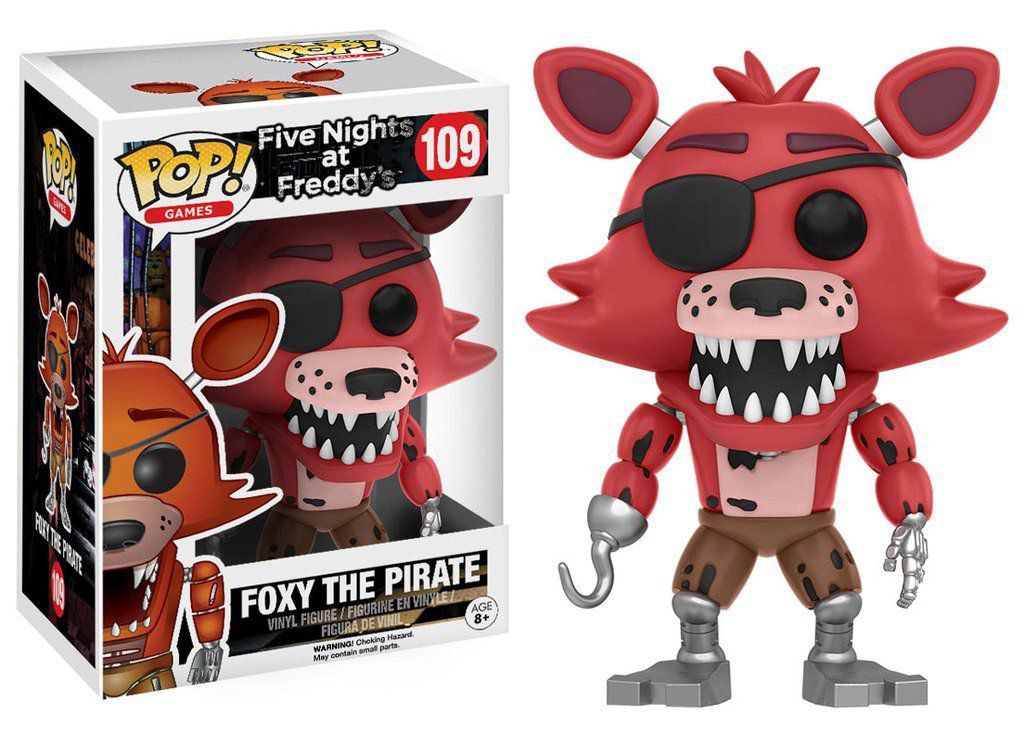 Funko Pop Foxy The Pirate: Five Nights At Freddy's (FNAF) #109 - Funko