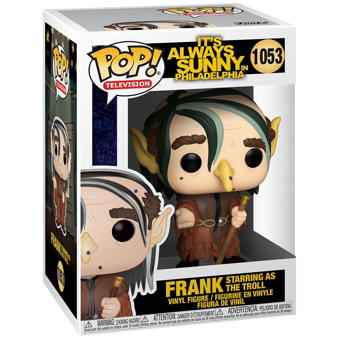 PRÉ VENDA: Funko Pop! Frank as Troll: It's Always Sunny In Philadelphia #1053 - Funko