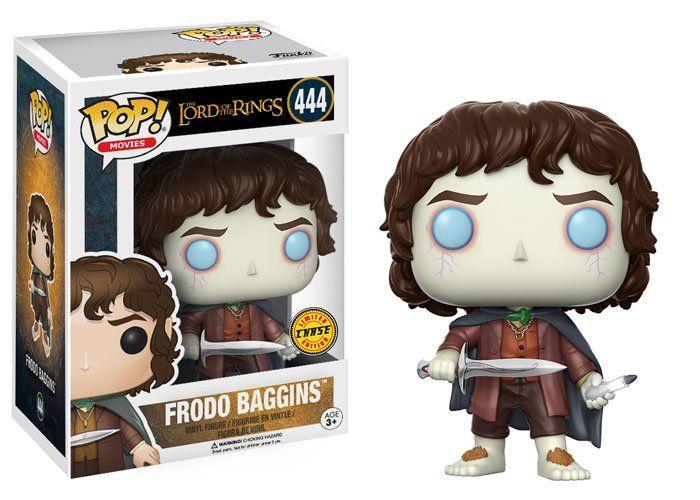Pop Frodo Baggins (Chase): O Senhor dos Anéis #444 - Funko