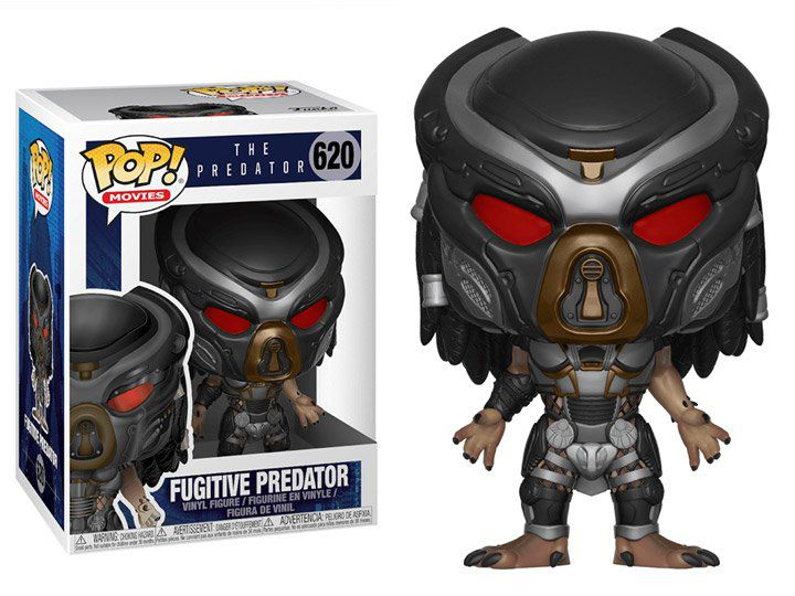 Funko Pop! Fugitive Predator: O Predador (The Predator) #620 - Funko