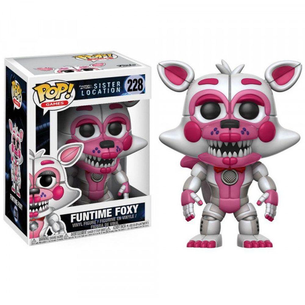 Funko Pop! Funtime Foxy: Sister Location (Five Nights at Freddy's) #228 - Funko
