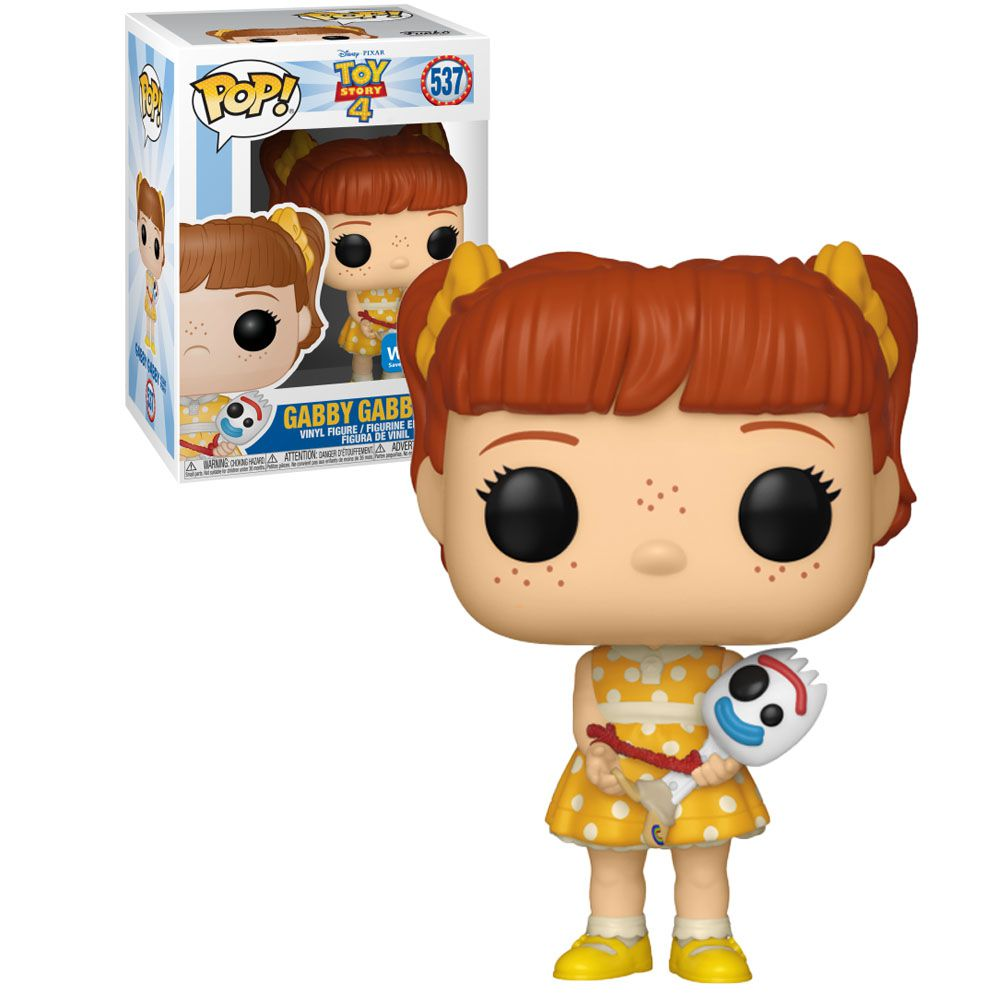 Funko Pop! Gabby Gabby  Com Garfinho (Holding Forky): Toy Story 4 (Exclusivo) #537 - Funko