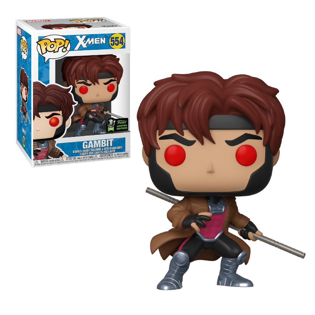 Pop! Gambit: X-Men (Exclusivo) Limited Edition #554 - Funko