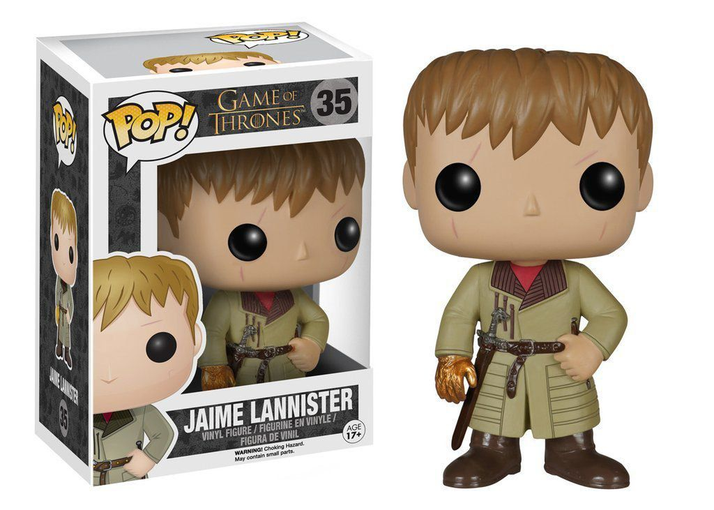 Funko POP! Game Of Thrones: Jaime Lannister Golden Hand #35 - Funko