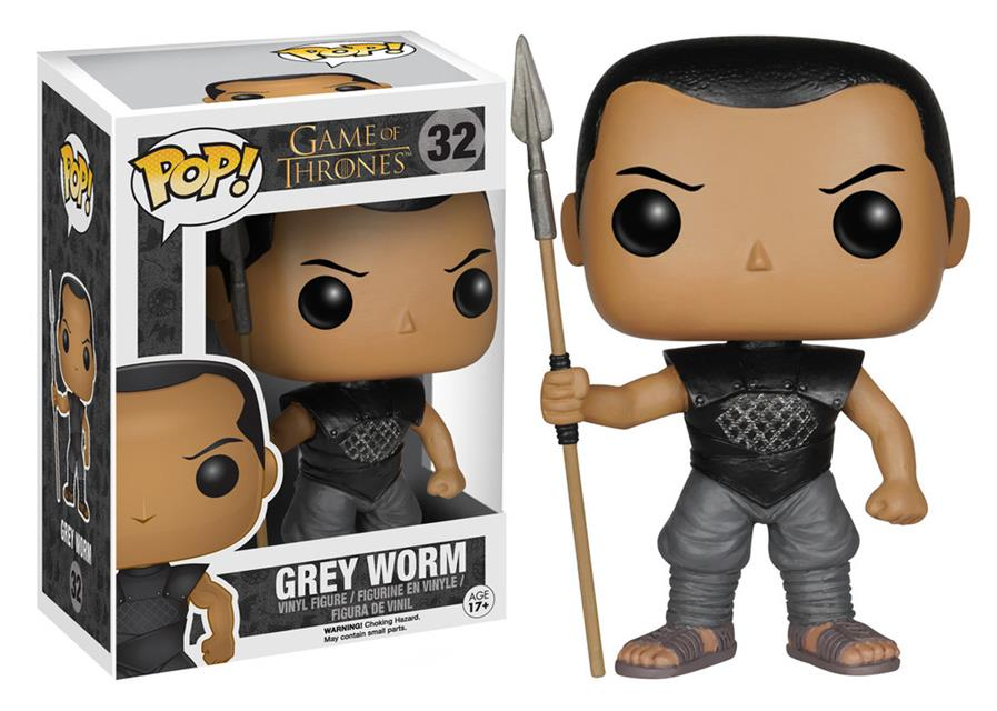 Pop Grey Worm: Game Of Thrones #32 - Funko