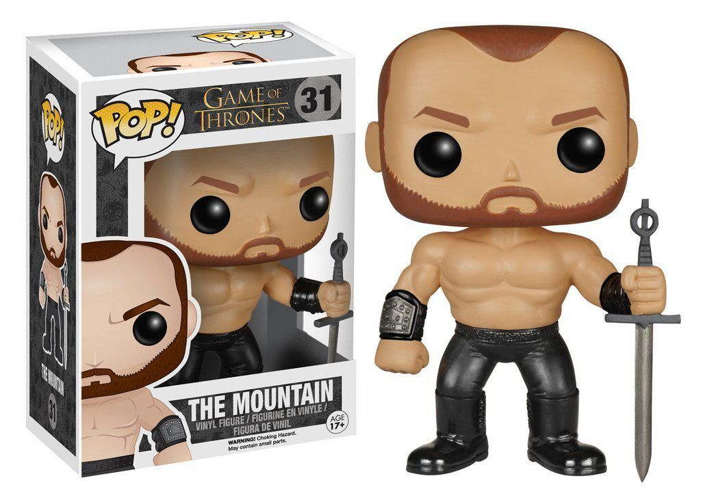 Funko Pop Montanha (The Mountain): Game Of Thrones #31 - Funko
