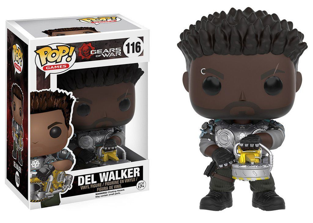 Funko Pop Del Walker: Gears of War #116 - Funko