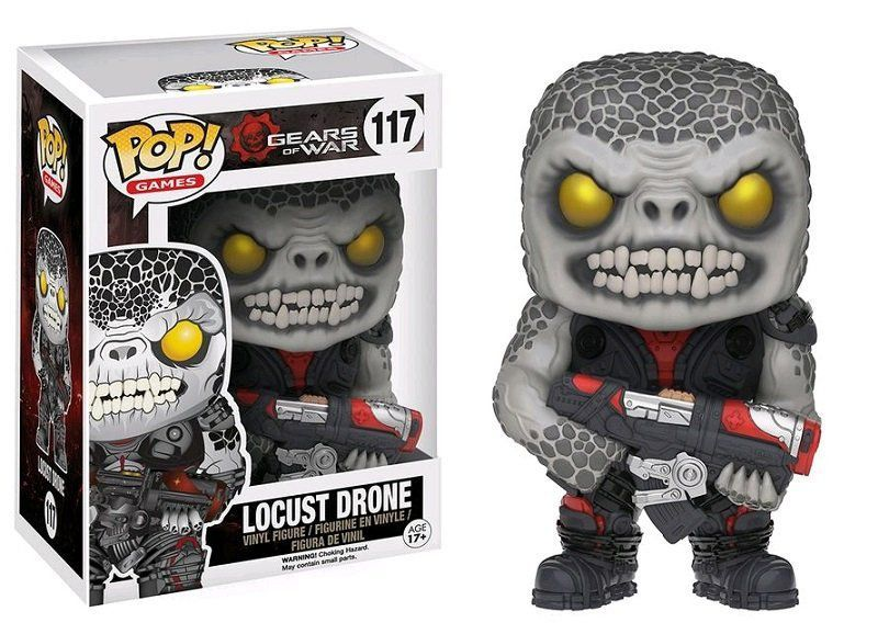 Funko Pop Locust Drone: Gears of War #117 - Funko