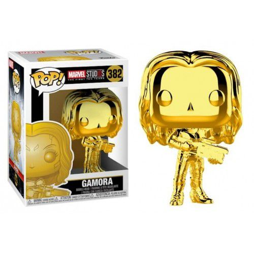 Pop! Gamora (Gold Chrome): Marvel Studios The First Ten Years #382 - Funko