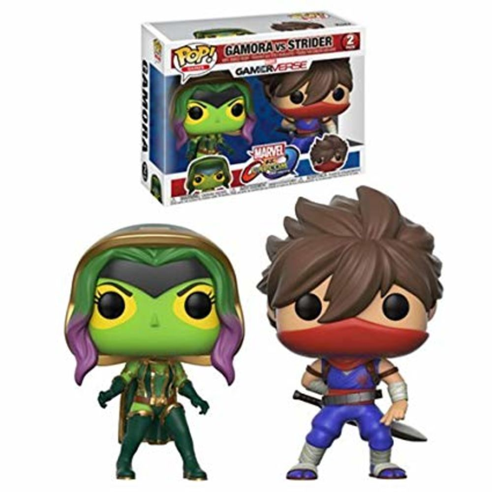 Funko Pop! Gamora Vs Strider: Marvel Vs Capcom Infinite #02 - Funko (Apenas Venda Online)