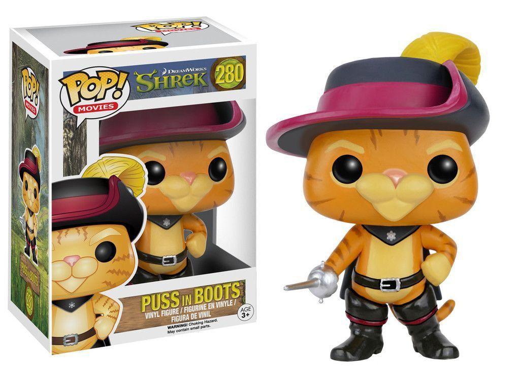 Funko Pop Gato de Botas: Shrek #280 - Funko