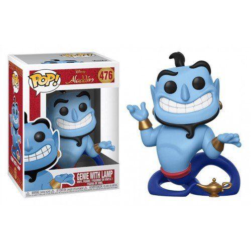 Funko Pop! Gênio da Lâmpada (Genie with Lamp): Aladdin (Disney) #476 - Funko