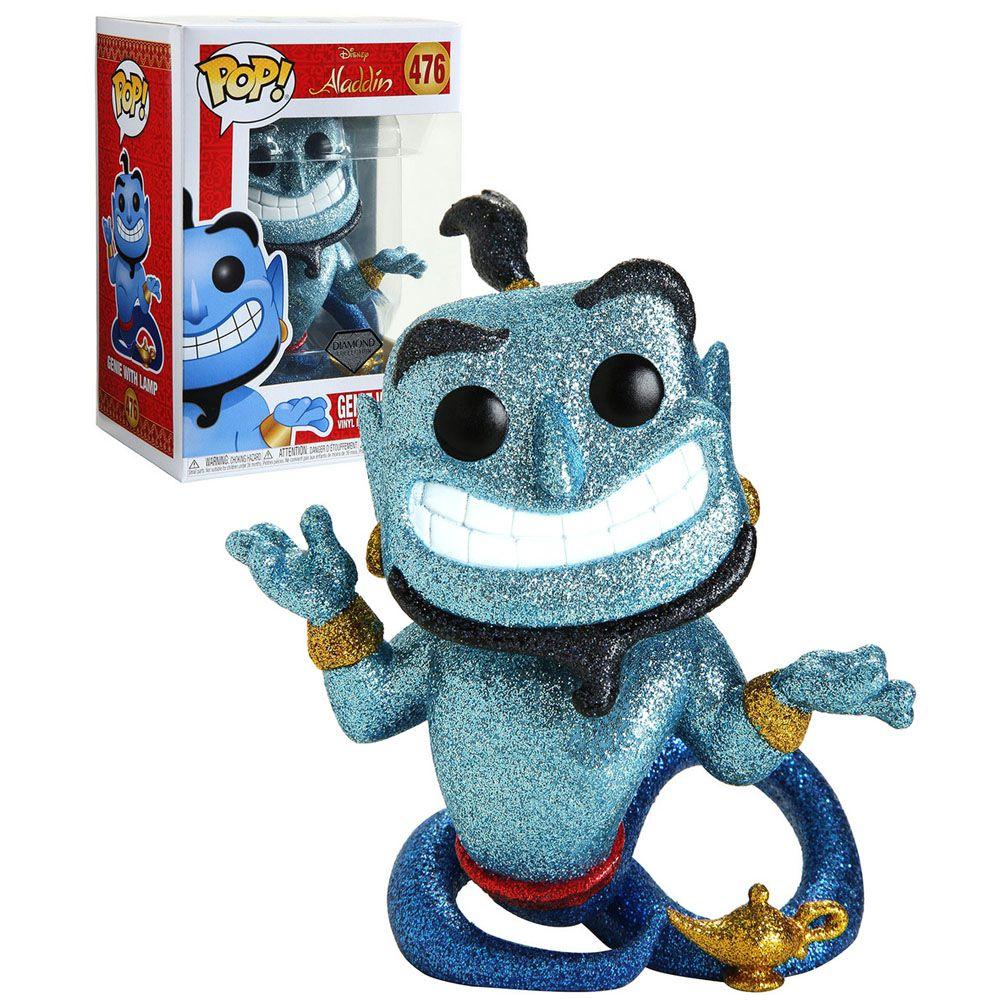 Pop! Gênio da Lâmpada (Genie with Lamp) Diamond: Aladdin (Disney) Exclusivo #476 - Funko