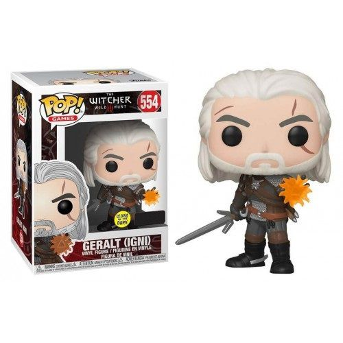 Pop Geralt (GITD): The Witcher III Wild Hunt  (Exclusivo) #554 - Funko