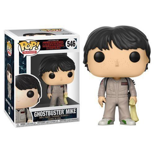 Funko Pop Ghostbuster Mike: Stranger Things #546 - Funko