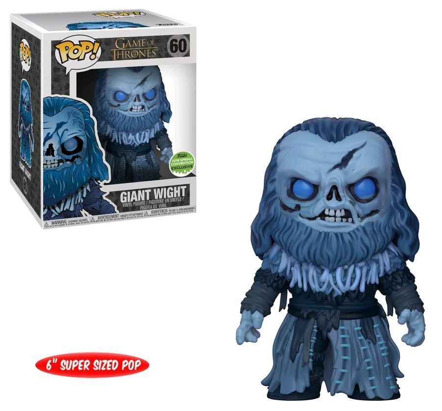 Funko Pop! Giant Wight: Game Of Thrones (Exclusivo) #60 - Funko