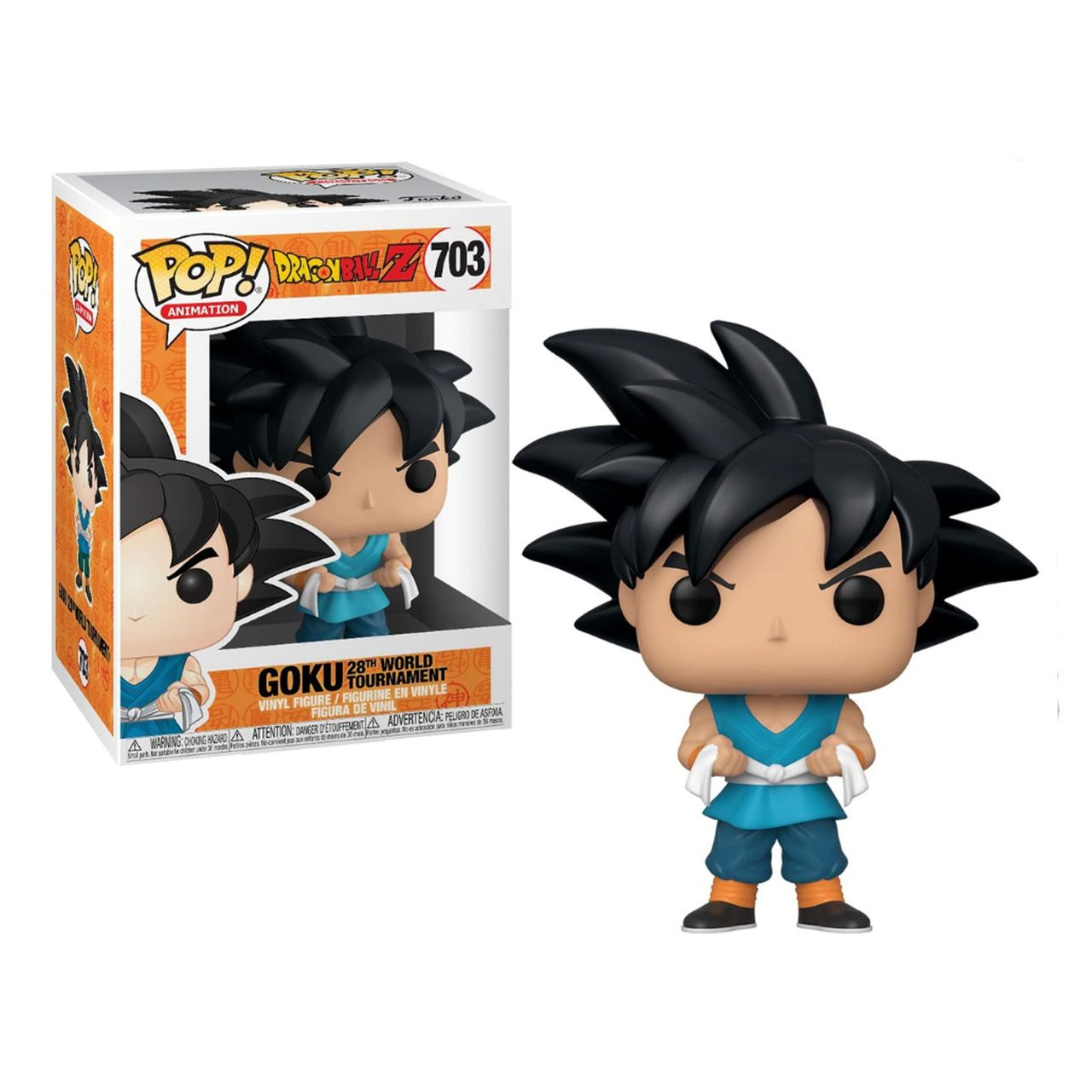 Funko Pop! Goku (BU Word Tournament): Dragon Ball Z #703 - Funko