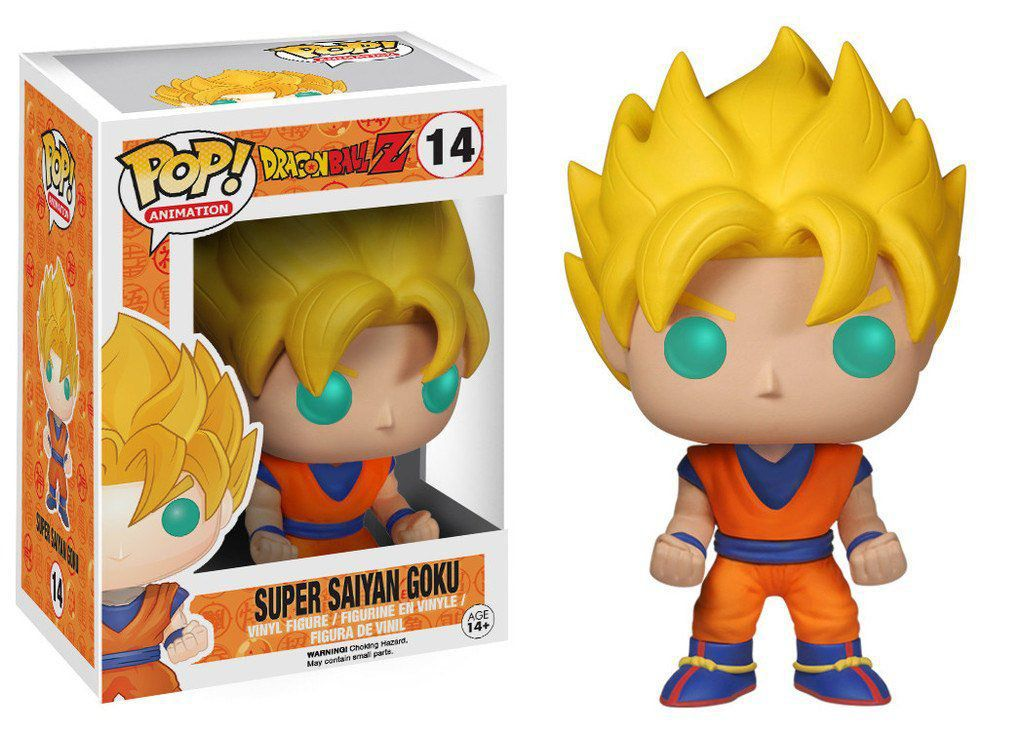 Funko Pop Goku Super Sayajin: Dragon Ball Z #14 - Funko