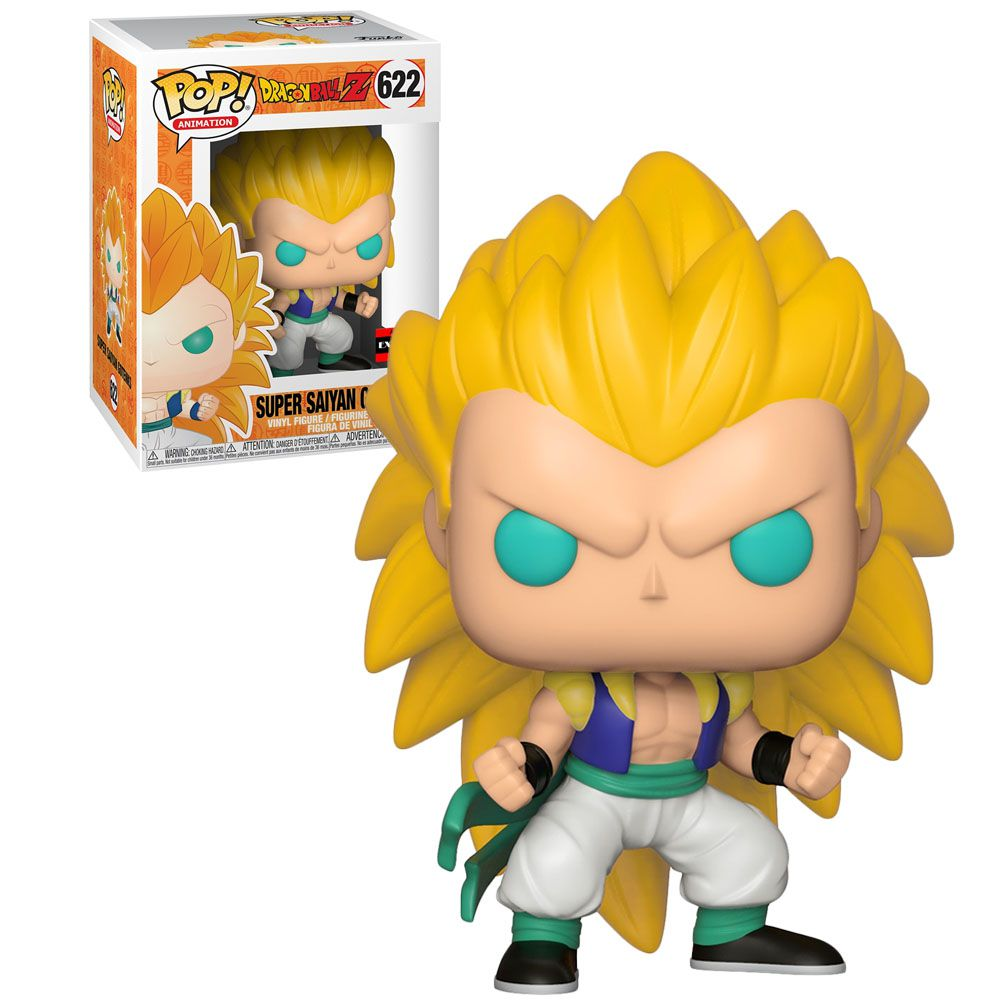 Funko Pop! Gotenks Super Sayajin: Dragon Ball Z (Exclusivo) #622 - Funko
