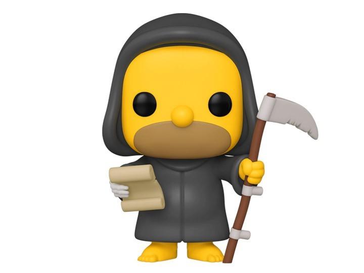 Pop! Grim Reaper Homer: Os Simpsons Casa de Horror: ( The Simpsons Treehouse of Horror ) - Funko