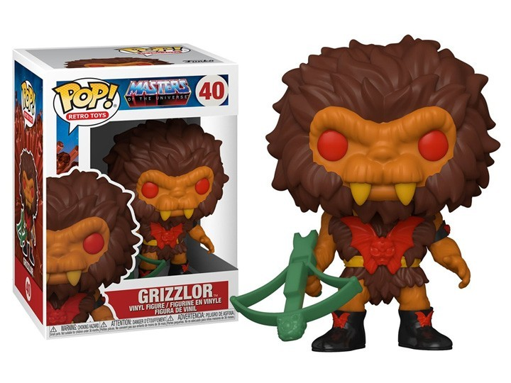 PRÉ VENDA: Funko Pop! Grizzlor: Mestres do Universo (Masters of the Universe) #40  - Funko