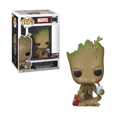 Pop! Groot (Gamer): Guardiões da Galaxia (Exclusivo) #539 - Funko