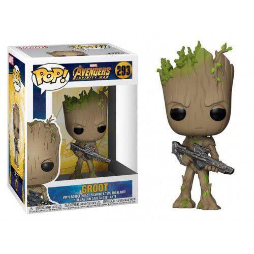 Funko Pop! Groot: Vingadores Guerra Infinita (Avengers Infinity War) #293 - Funko