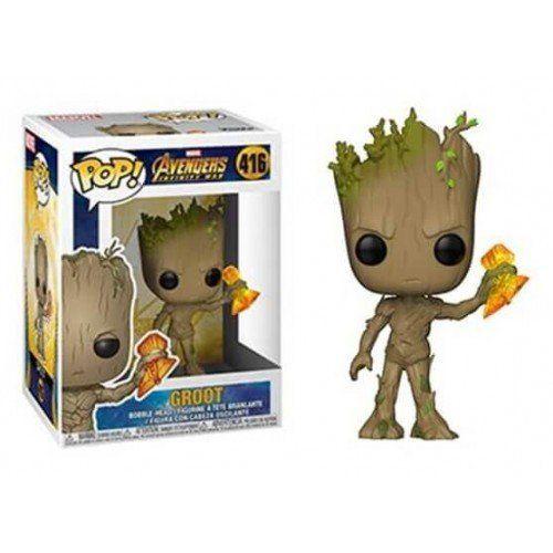 Funko Pop! Groot: Vingadores Guerra Infinita (Avengers Infinity War) #416 - Funko
